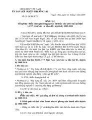 BC Tong hop y kien tham du vao du thao van kien DH Hoi.2009.doc