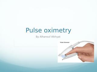 pulse oxmietry .pptx