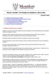 Maurice Zundel - Um Herege Escandaloso e Descarado - Orlando Fedeli.pdf