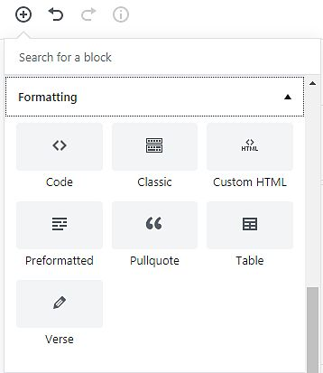 New editing Tool in WordPress is WordPress Gutenberg 3